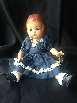 """Effanbee Patsy Doll Reproduction 13"""" Durable Doll with Bracelet/Necklace"""
