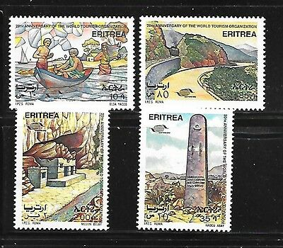 ERITREA Sc 232-5 NH ISSUE OF 1995 - TOURISM