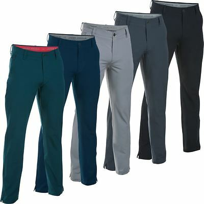 *new 2016* Under Armour Cgi Pants Match Play Tapered Mens Winter Golf Trousers