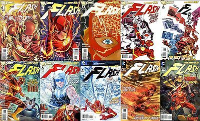Flash (2011 Dc New 52) #0, 1-52, 23.1, 23.2, 23.3, Annual 1 2 3 4 + Variant #1