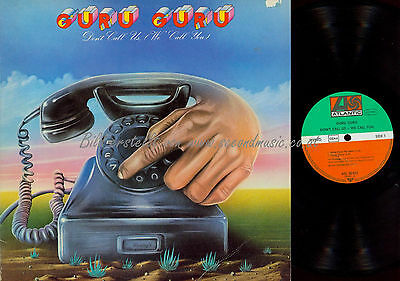 Lp--Guru Guru Don't Call Us We Call You / Atl 50022 // Germany 1973