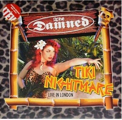 The Damned - Tiki Nightmare Live In London on Red Vinyl 2LP NEW/SEALED