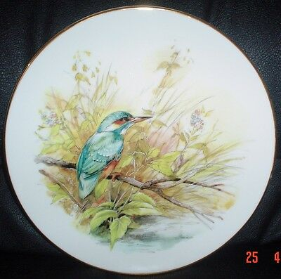 The Heritage Collection THE KINGFISHER Collectors Plate