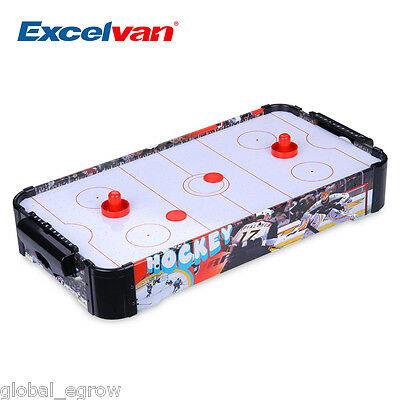 "27"" Mini Air Hockey Tabletop Indoor Game Activity Set Table Top Family Play Fun"