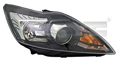 Black Headlight Front Lamp Fits Right Ford Focus 2004 2008 1521225