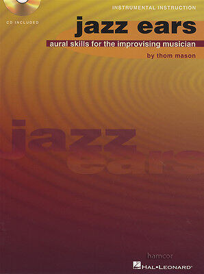 Jazz Ears Aural Skills for the Improvising Musician Sheet Music Book/CD