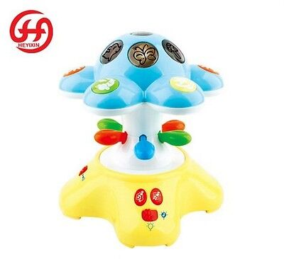 Baby Toy Lullaby Songs Sounds & Night Light Projector Cot Sleeping Aid 88003