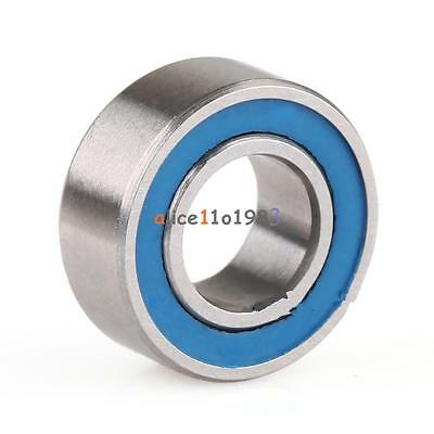 10PCS MR105-2RS Miniature ball Bearings with blue Plastic cover 5*10*4mm