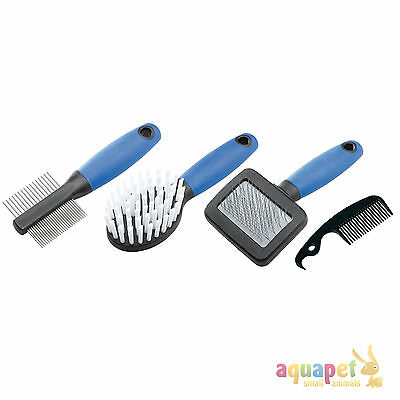 Ferplast Small Animal Grooming Set Rabbit/ Guinea Pig Brush Set