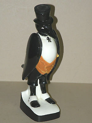 """vintage OLD CROW ROYAL DOULTON 13"""" Advertising Back Bar DECANTER empty"""