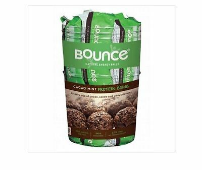 Tub of 40 x 42g BOUNCE Energy Balls - CACAO MINT Protein Bomb ( Workout Food )