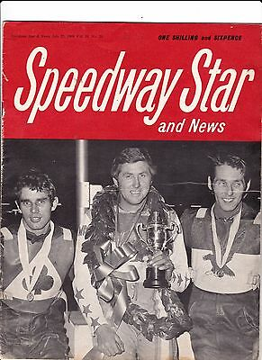 Speedway Star And News. July 25, 1969. Coventry / Crayford  team photos