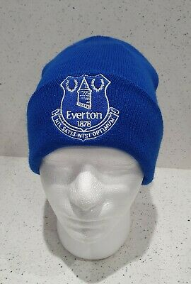 Everton Official Bronx Hat With Everton Crest - Adult - Blue - Great Gift Idea!