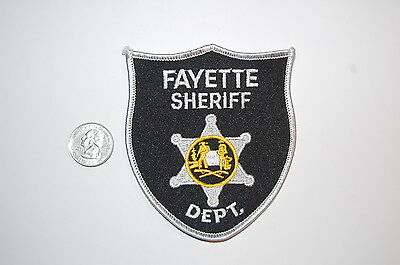 Fayette County Sheriff's Dept West Virginia Police Patch