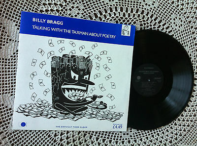 Billy Bragg - Talking With The Taxman About Poetry, Lithuanian Zona edition LP
