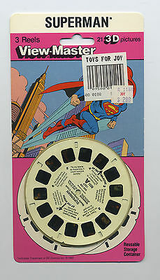 View-Master Packet Superman Packet 1007