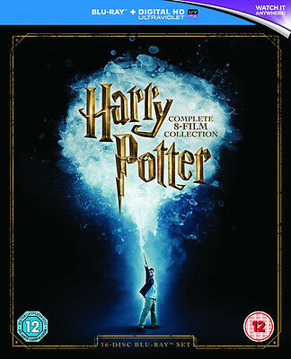 Harry Potter: The Complete 8 Film Collection BRUB NEW