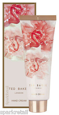 Ted Baker PINK Perfumed HAND CREAM With Shea Butter & Vitamin E 125ml