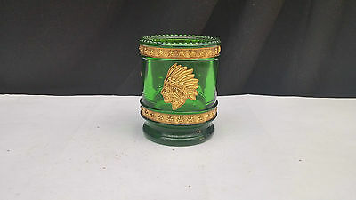 Bob St. Clair 1976 Bicentennial Toothpick Holder in Green with Gold