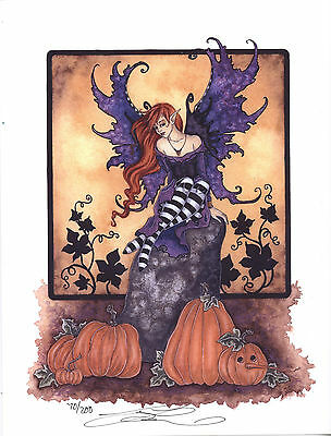 Amy Brown - Halloween Faery - Limited Edition