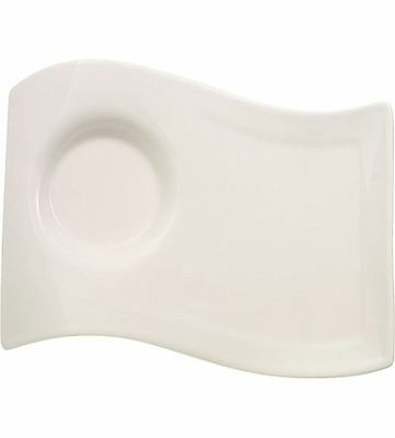 Villeroy and Boch NewWave Large Party Plate 22cm by 17cm