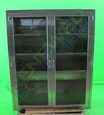 Continental Stainless Steel Recessed Cabinet with Full-View Door #2