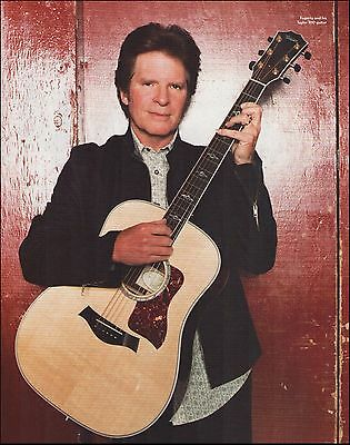 CCR John Fogerty with his Taylor 810 acoustic guitar 8 x 11 pinup photo print