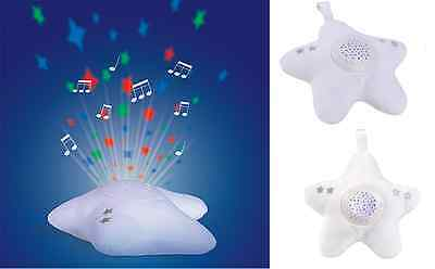 Twinkle Star Baby Nursery Mobile Night Light Projector Lullaby Musical Comforter