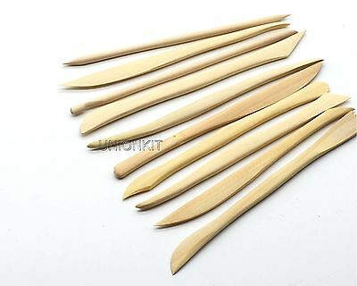 New U9N Model Polymer Clay Sculpting Pottery Wooden DIY Modelling Tools Set-10