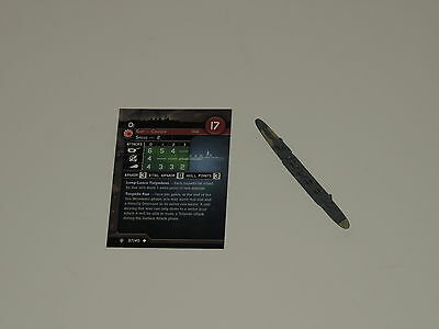 Axis & Allies War at Sea Flank Speed Miniature Oi 37-40