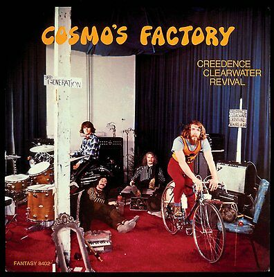 CREEDENCE CLEARWATER REVIVAL CCR Cosmo's Factory 180gm Vinyl LP 2015 NEW SEALED