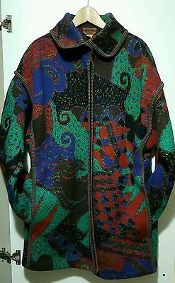 Missoni Giaccone Donna Vintage90 Missoni Jacket Balzer Vintage90 Rare Collection