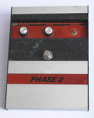 Vintage Carlsbro Phase 2 Guitar Effects Pedal