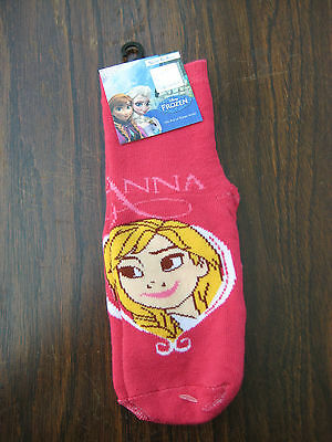 Disney Frozen Slipper Socks Anna Size 6-8.5 or 12-2.5  Stocking Filler