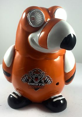 Wests Tigers NRL Solar Powered Light Toucan With Sound