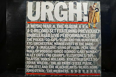 Various Artists - URGH! A Music War     2 LPs
