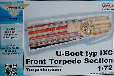 "MPM Detail Resin Set ""Front Torpedo Section"" for Revell® U-Boot IXC in 1:72"
