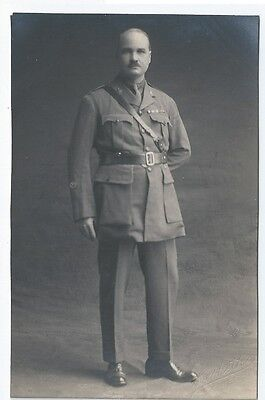 3rd Carabiniers Prince of Wales's Dragoon Guards Officer Unused RP Postcard IOW