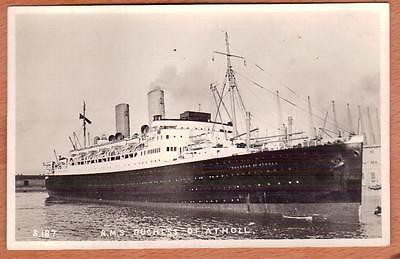 Canadian Pacific SS DUCHESS OF ATHOLL Unused Real Photo Postcard