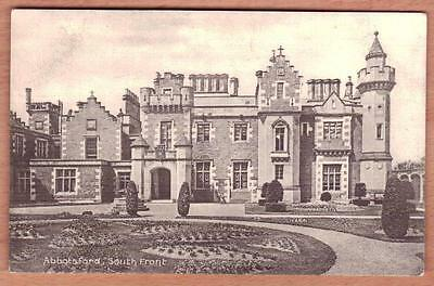 GALASHIELS MELROSE ABBOTSFORD HOUSE Unused Postcard