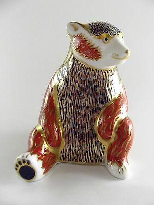 Royal Crown Derby Paperweight Honey Bear Ref 224/3