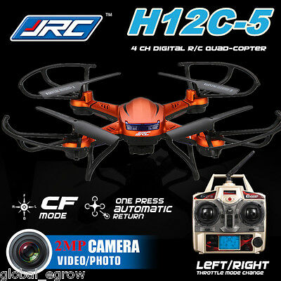 JJRC H12C-5 6-Axis Gyro RC RTF Quadcopter Drones 2.4GHz 2.0MP Camera Monitor LED