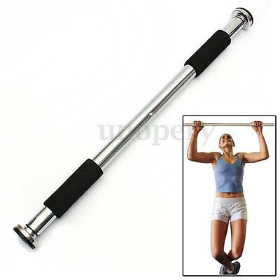 Adjustable Doorway Chin Up & Pull Up Bar Home Gym Workout Exercise Fitness Sport