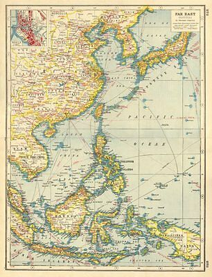 EAST ASIA INDUSTRIES. China Korea East Indies Philippines. Manila plan 1920 map