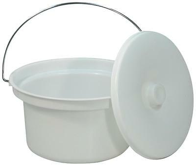 5L Commode Bucket and Lid