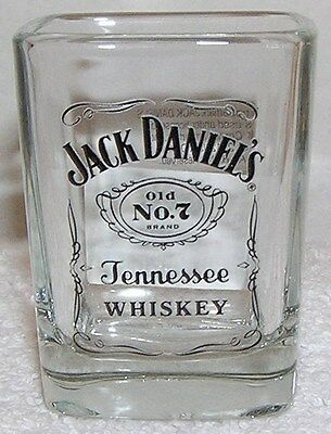 Jack Daniels ORIGINAL Old # 7 Tennessee Whiskey (SHOT GLASS) WITH AUTHENTICITY