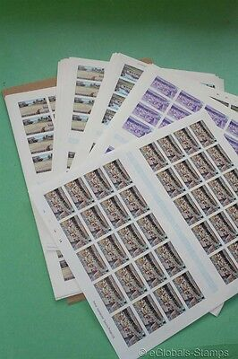 MONTSERRAT Tourism / Golf 1986 1140 x Proofs Stamp Collection 80 Sets Dealer
