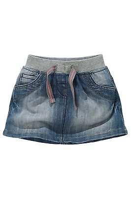 Bnwt Next Rib Waist Denim Skirt Size 4-5 Years