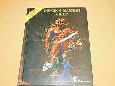 Vintage Dragons  1979 Advanced D & D Dungeon Masters Guide Book