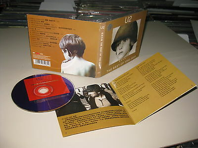 U2  Cd The Best Of 1980-2000 Asian Rare Edition